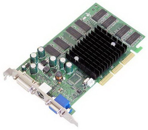 EVGA 128 A8 N306 8x D-Sub/ VGA/ S-Video/ DVI Video Graphi...