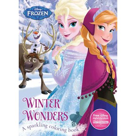 Disney Frozen Winter Wonders : A Sparkling Coloring Book