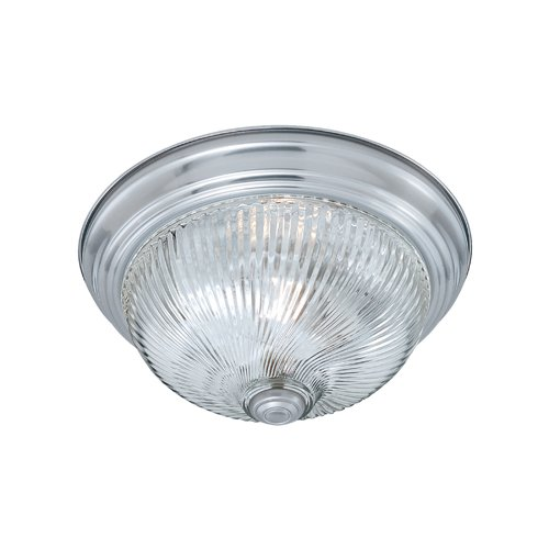 Thomas Lighting 2-Light Ribbed Flush Mount by Thomas Lighting