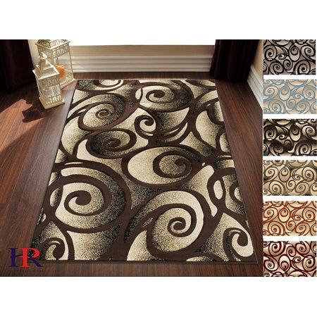 Handcraft Rugs Modern Swirls And Circle Pattern