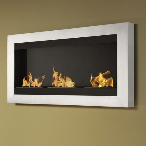 IGNIS Products Magnum Wall Mount Ethanol Fireplace