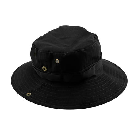 63c859e34d2 Fishing Hunting Bucket Hat Boonie Outdoor Cap Washed Cotton Safari Summer  Men - Walmart.com