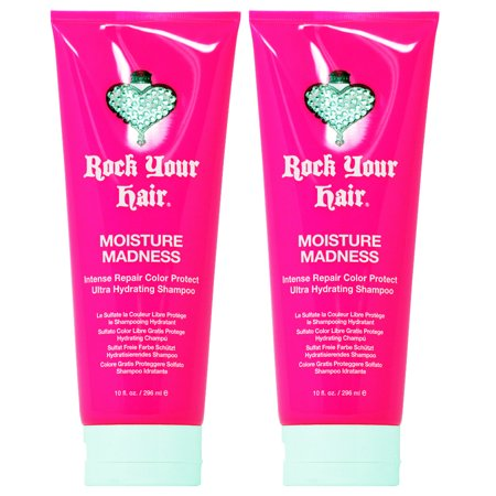 - Rock Your Hair Moisture Madness  Color Protect Ultra Hydrating Shampoo 10oz (Pack of 2)
