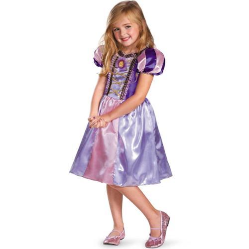 Disney Rapunzel Sparkle Classic Kids Costume - Size S