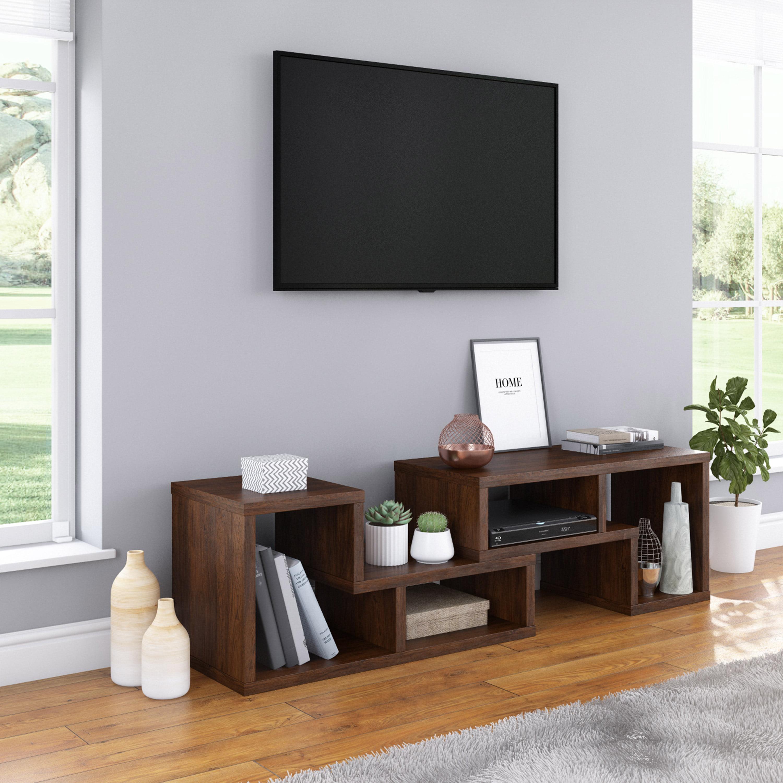 Mainstays Adjustable Low Profile Shelves, 2-Piece Set, Multiple Finishes - Walmart.com