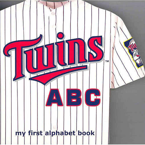 Minnesota Twins ABC: My First Alphabet Book