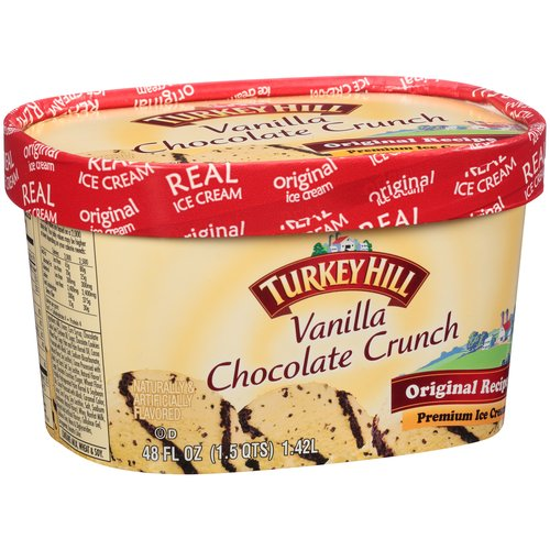Turkey Hill Blitzburgh Crunch Ice Cream, 48 oz
