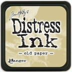 Tim Holtz Distress Mini Ink Pad-Old Paper