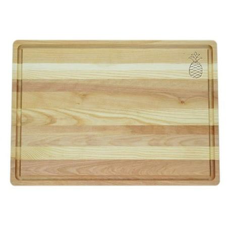 Wooden Carving - Carved Solutions Master Collection Wooden Cutting Board Large-Pineapple