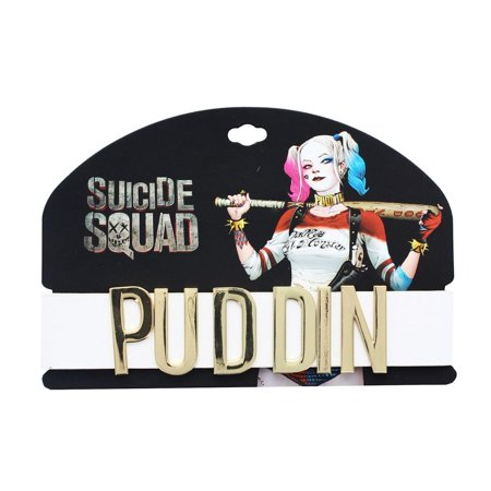 Harley Quinn Puddin Costume Necklace](Quinn Costume)