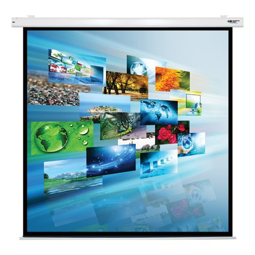 Hamilton Buhl Matte White Electric Projector Screen