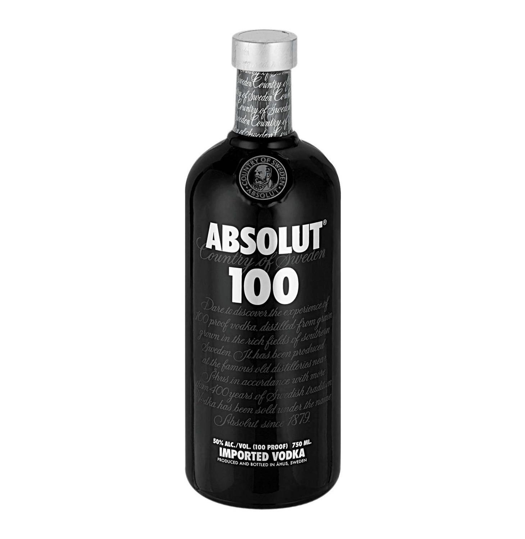 Image of Absolut Black Vodka, 750 mL
