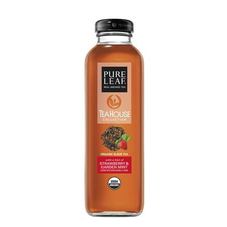 Hybrid Tea Collection - Pure Leaf Tea House Collection Iced tea Strawberry Mint 14 Fluid Ounce, 8 Pack