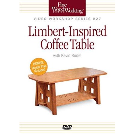 Fine Woodworking Video Workshop Series Limbert Inspired Coffee