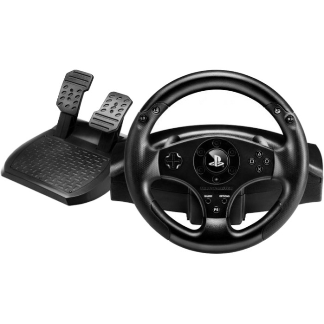 Thrustmaster T80 Racing Wheel - Cable - PlayStation 3, (Refurbished)
