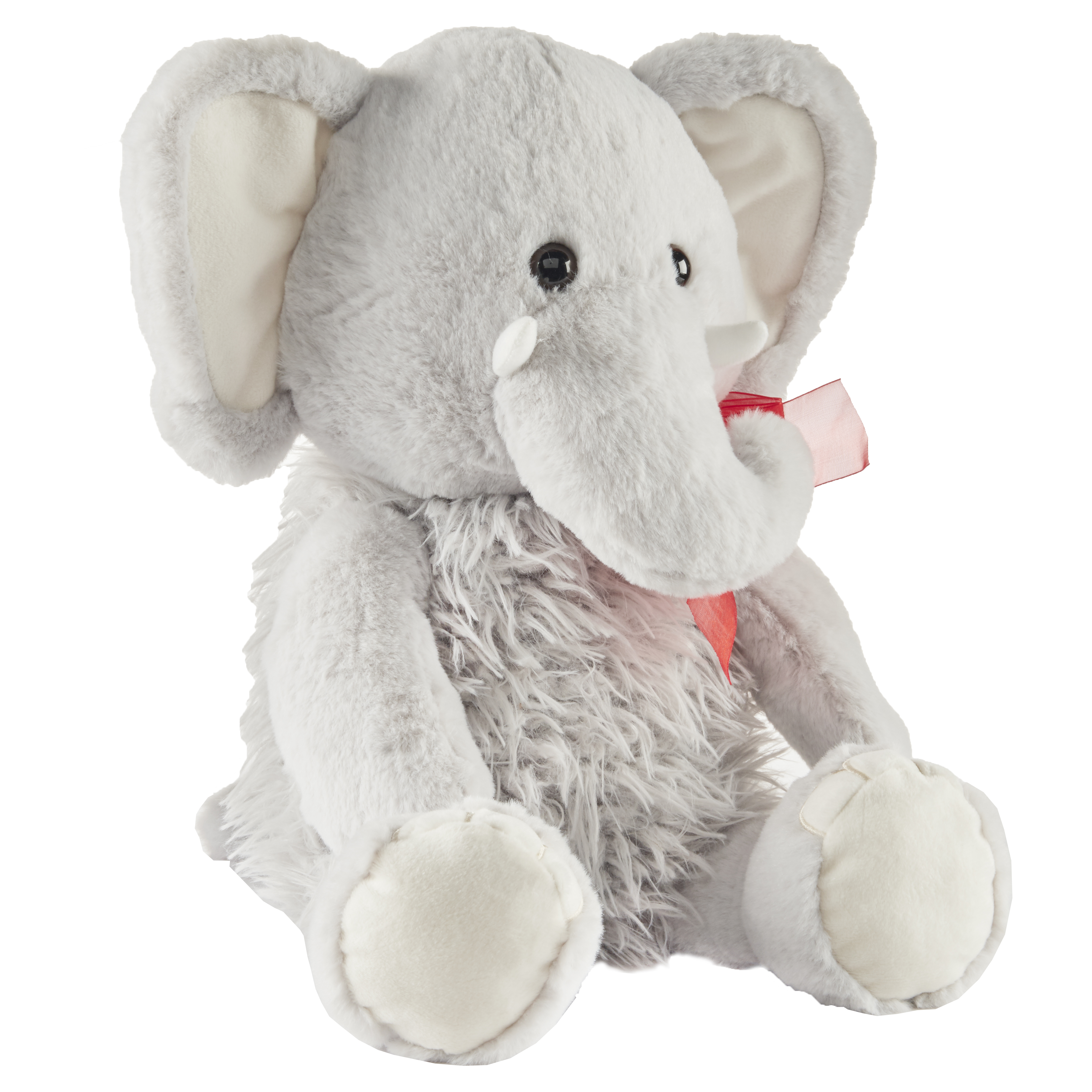 Way To Celebrate Valentine's Day Large Plush, Elephant