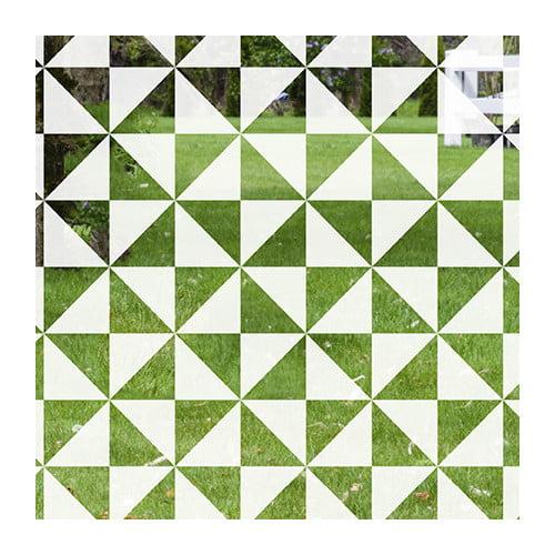 Stick Pretty Pinwheel Decorative Window Film
