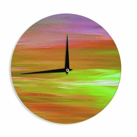 East Urban Home Ebi Emporium Bright Horizons 5 12 Wall Clock