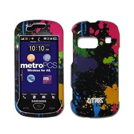 EMPIRE Paint Splatter Design Snap-On Cover Case for Samsung Craft R900