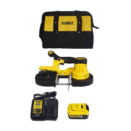 DeWalt DCS371P1 20V MAX Cordless Bandsaw Kit [Battery, Charger, Blade, Bag]