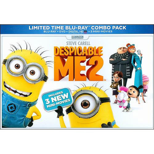 Despicable Me 2 (Blu-ray   DVD   Digital HD) (With INSTAWATCH) (Widescreen)