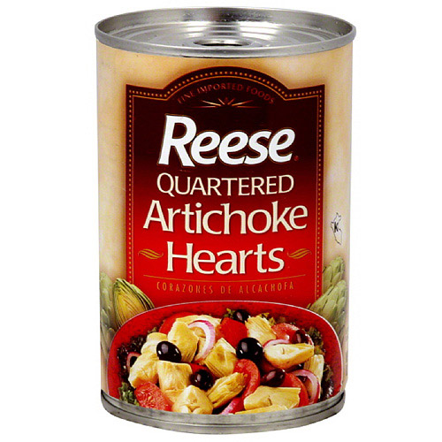 Reese Quartered Artichoke Hearts, 14 oz (Pack of 12)