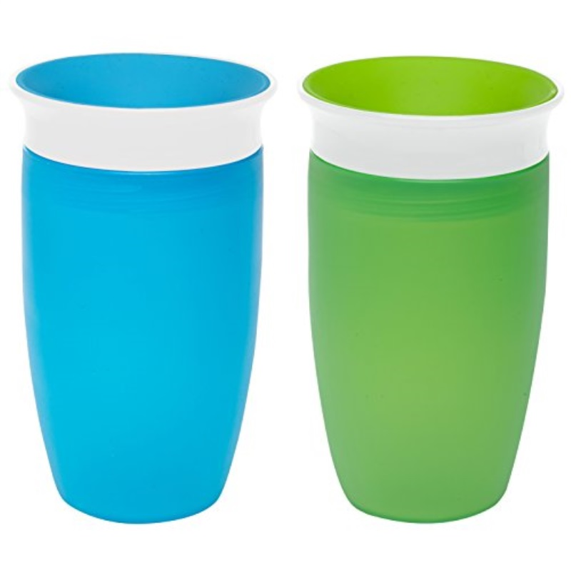 10 Ounce Blue 2 Count by Munchkin Munchkin Miracle 360 Sippy Cup