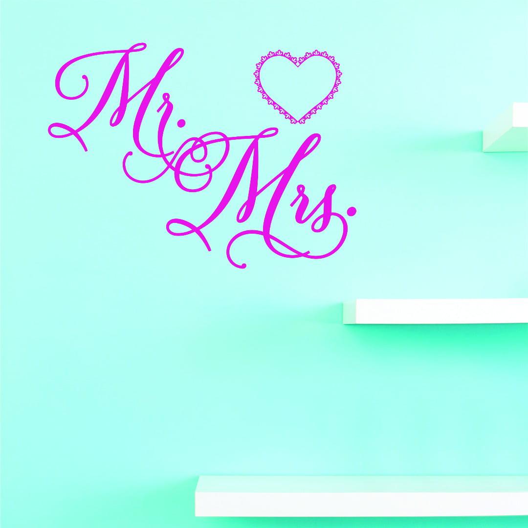 Custom Designs Mr. & Mrs. 12 X 12 Inches