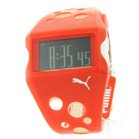 Puma PU90005B0297H38 Puma Mens Sporty Rubber Multifunction Digital Flow Watch