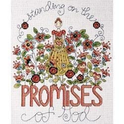 Design Works Heartfelt Promises Counted Cross Stitch Kit - 8 X10  14 Count