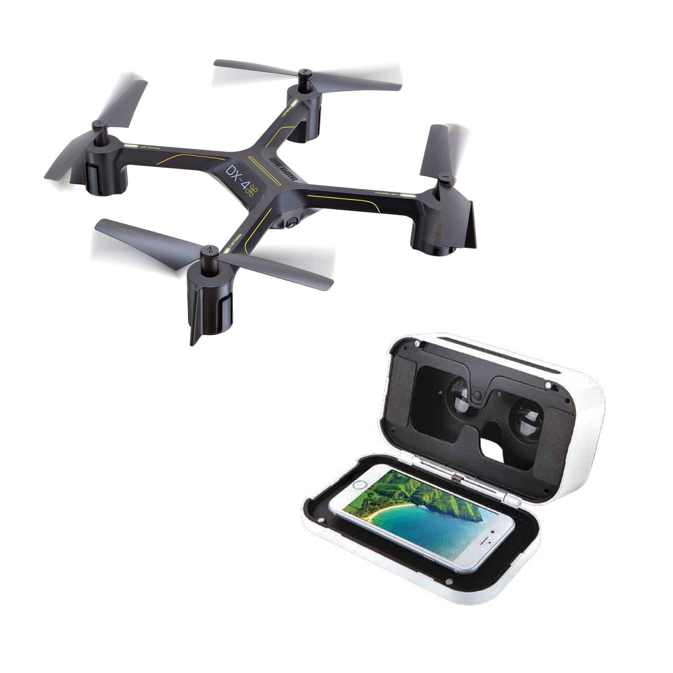 Sharper Image Dx 4 Hd Video Fpv Streaming Drone Walmartcom