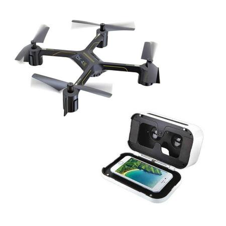 Sharper Image Dx 4 Hd Video Fpv Streaming Drone Walmartcom