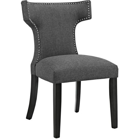 Modway Curve Upholstered Dining Side Chair, Multiple Colors