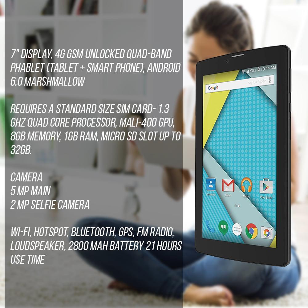 Plum Optimax 12 - Tablet + Phone Phablet 4G GSM Unlocked 7