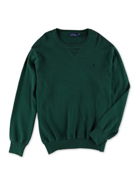 Ralph Lauren Mens Knit Pullover Sweater, Green, Big 2X