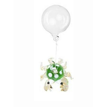 - Green Floating Glass Crab Fish Tank Charm by Ganz