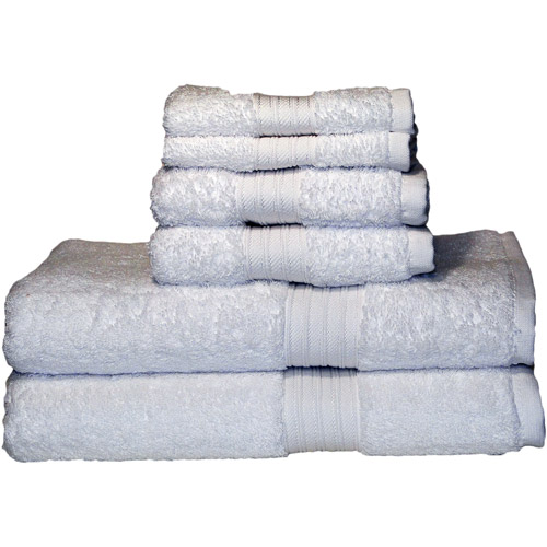 Egyptian Majestic Oversized Heavy Weight Egyptian Cotton 6pc Towel Set