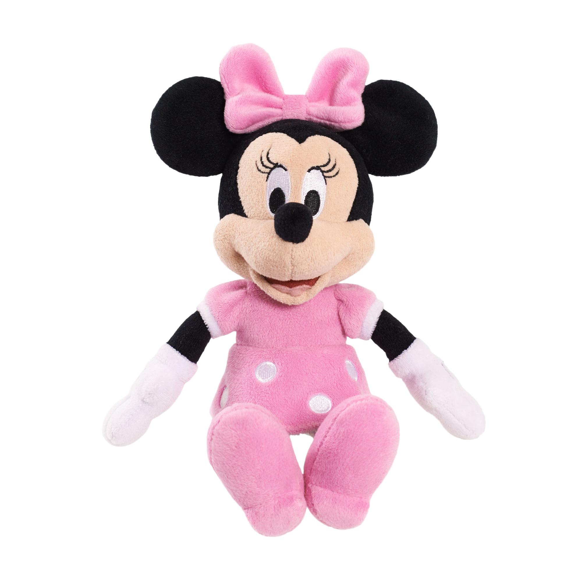 Minnie Mouse Bean Plush - Minnie in Pink Dress