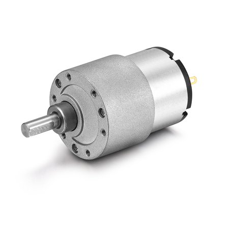 DC 12V 66RPM 6mm Diameter Shaft Electric Geared Box Speed Reduction