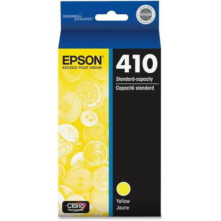 EPSON 410 Claria Premium Yellow Standard Capacity Ink Cartridge