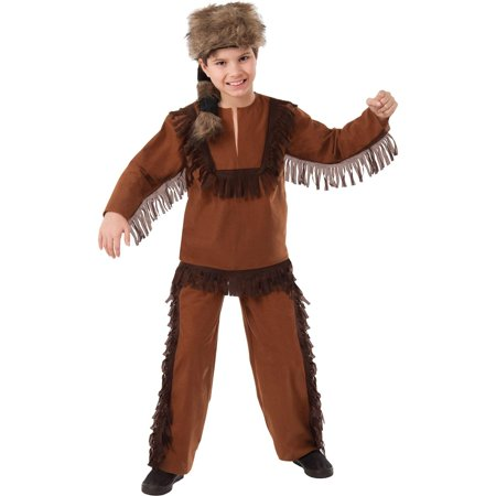 Davey Crockett Child Costume M - Davy Crocket Costume