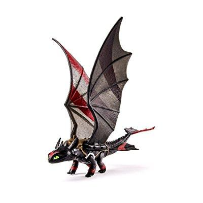 dreamworks dragons, how to train your dragon 2 toothless power dragon (extreme wing flap action)