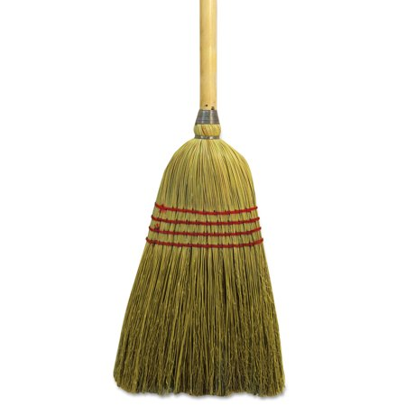 Boardwalk Maid Broom, Mixed Fiber Bristles, 55