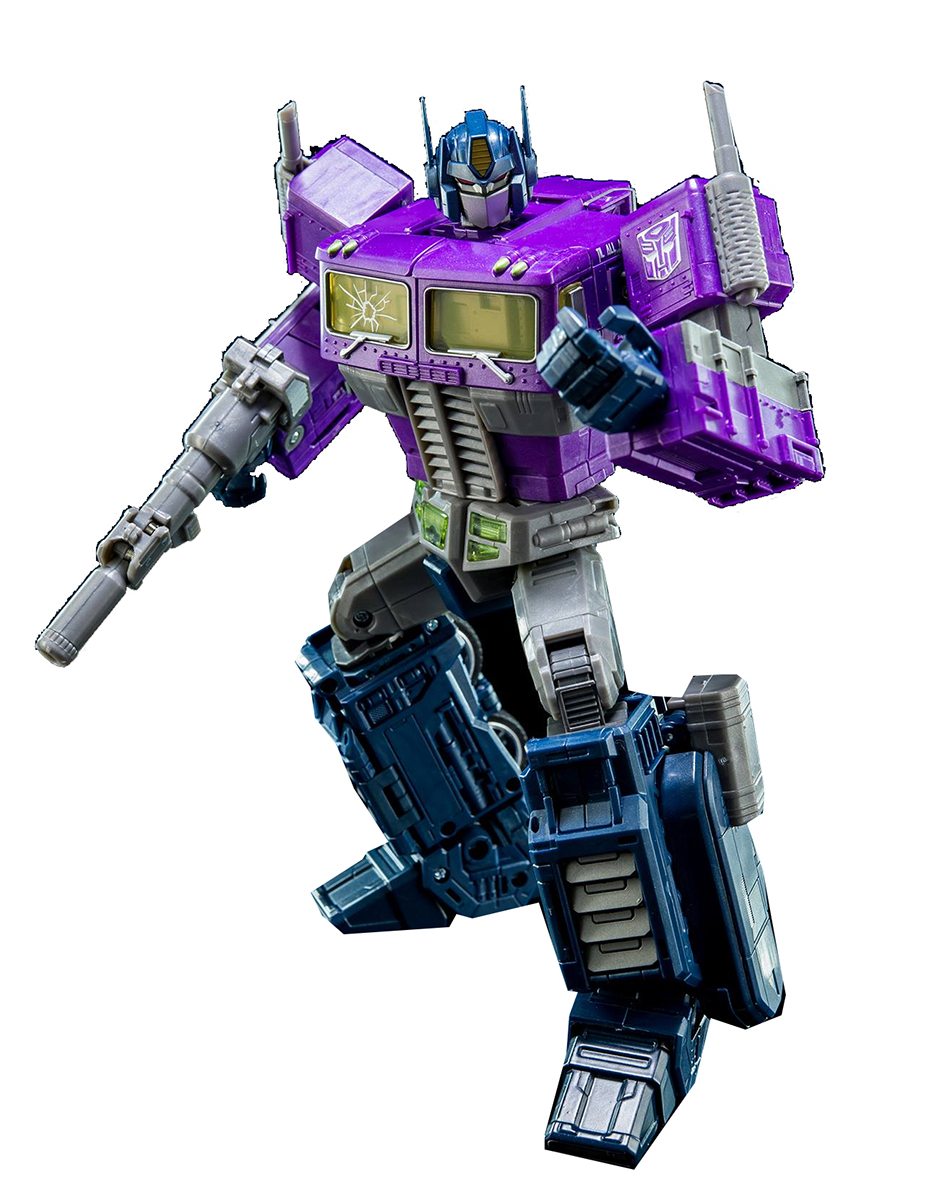 "Transformers Shattered Glass 9"" Action Figure: Optimus Prime by Hasbro"