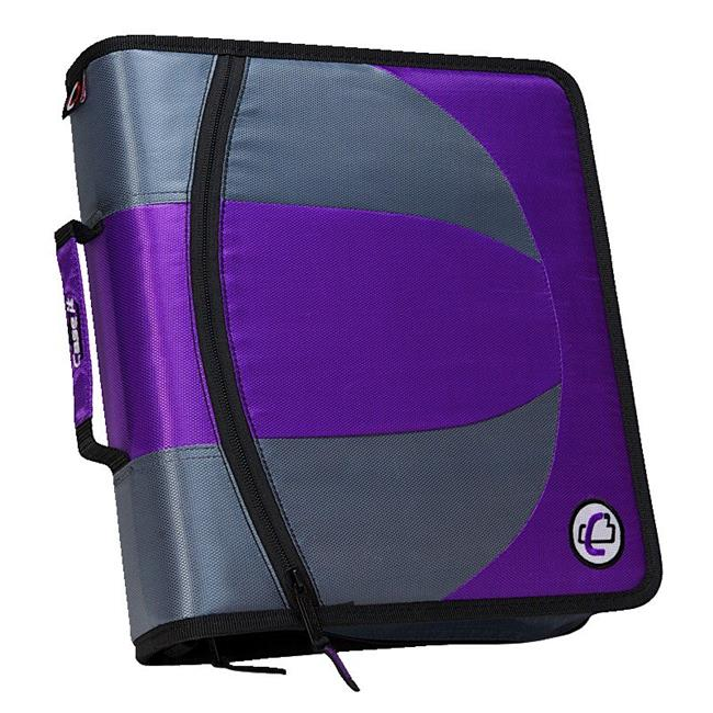 Dual Ring Binder, 1.5 in. - Purple