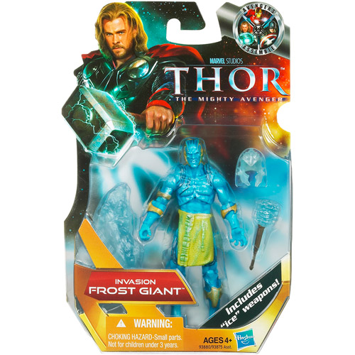 Thor The Mighty Avenger Frost Giant Action Figure [Invasion]