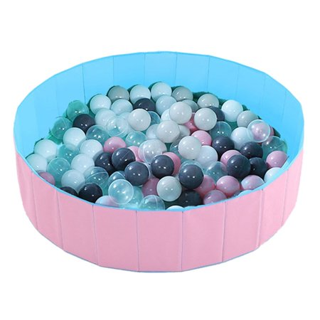 Infant Shining Ball Pits Foldable Ball Pool Ocean Ball Playpen Washable Toy - image 1 of 7