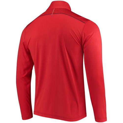 Majestic St. Louis Cardinals Adult Half Zip Pullover Jacket