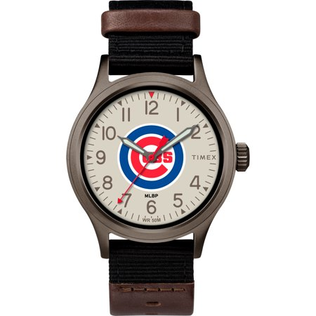 Chicago Cubs Clutch Watch - No Size (Watch Chicago Fire)
