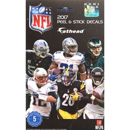 Fatheads 2017 NFL Tradeables Mystery Pack [5 Vinyl Decals]